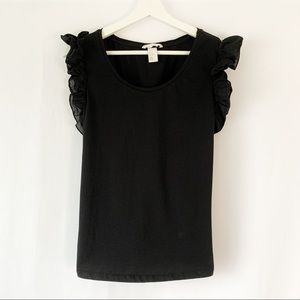 H&M Ruffle Sleeve Top